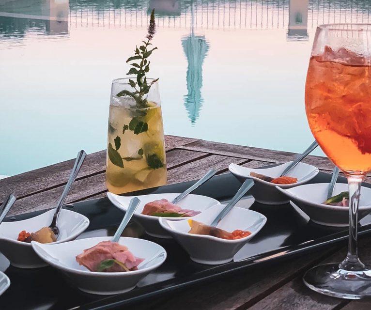 Hotel Parco degli ulivi aperitivo piscina