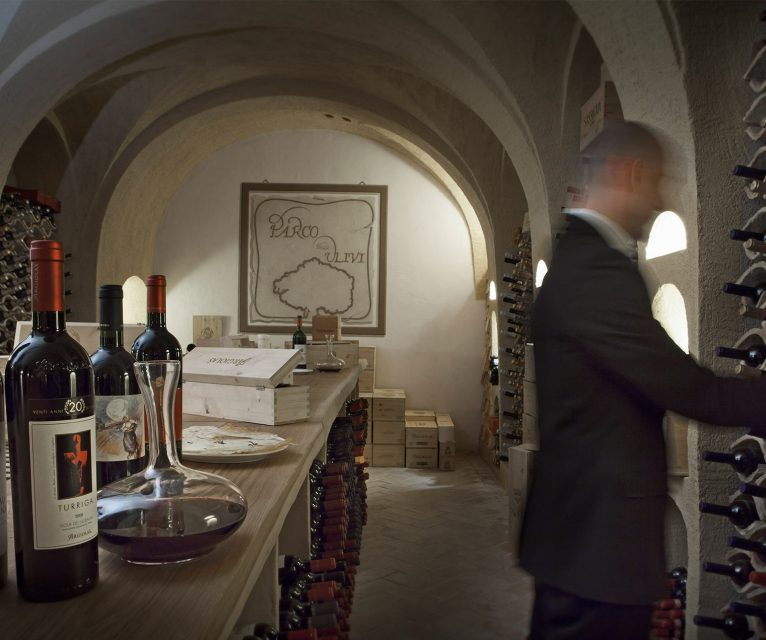 Hotel Parco degli ulivi cantina