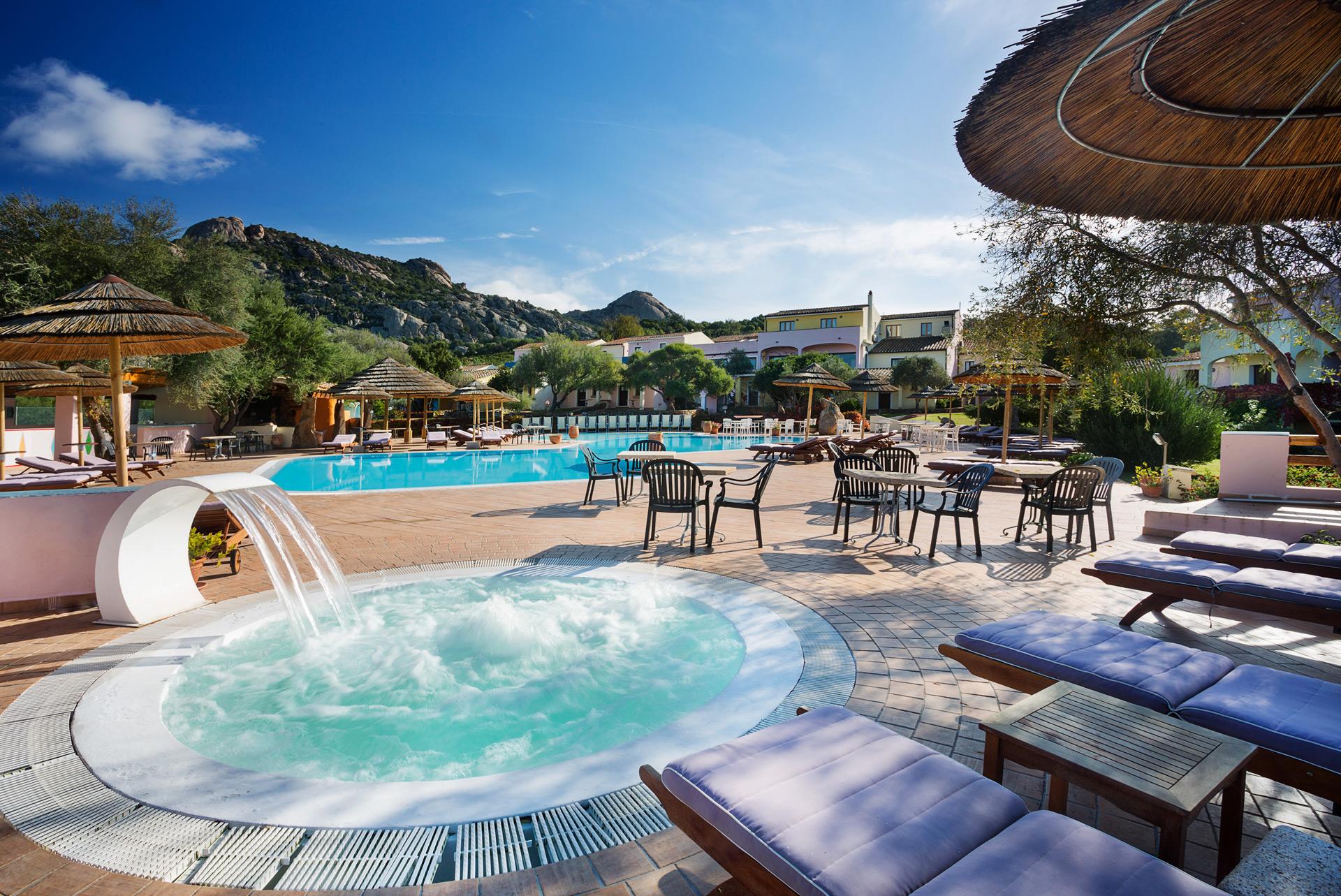 Hotel Airone piscina idromassaggio