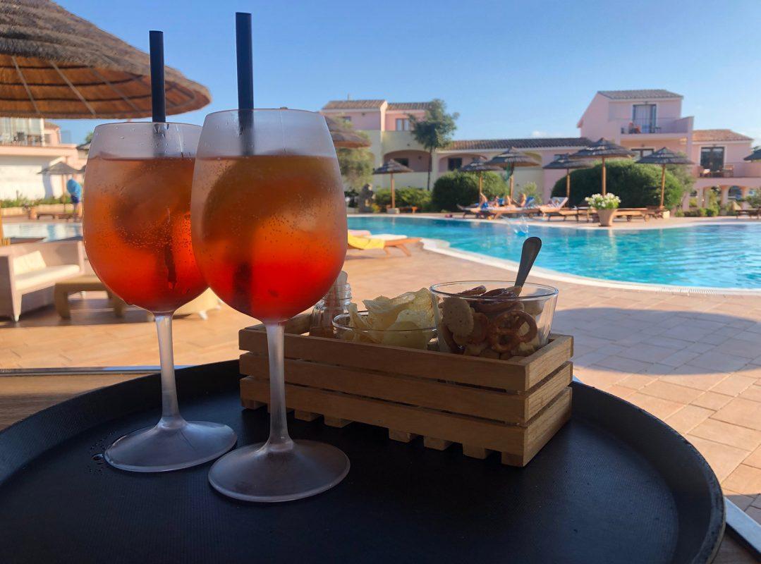 Hotel pool Baja Sardinia Airone Sardinia