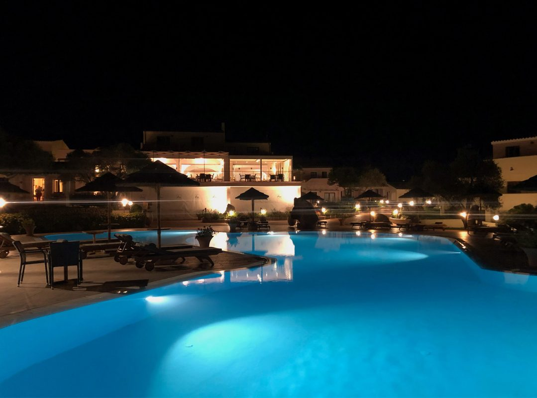 Hotel Airone with pool Baja Sardinia